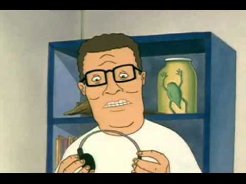 Hank Hill Listens to X
