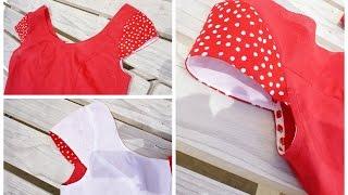 getlinkyoutube.com-How to sew a Cap Sleeve / Insert a Sleeve