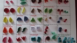 getlinkyoutube.com-25 forme principale in quilling
