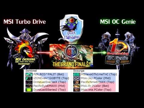 DotAHL 199 - [MSI Allstar G3] MSI Turbo Drive vs MSI OC Genie