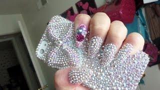 getlinkyoutube.com-Decoración de uñas con Swarovski