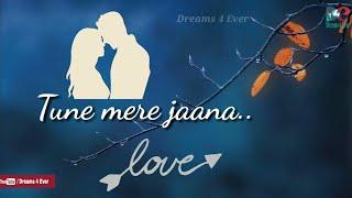Tune Mere Jaana Song💘WhatsApp Status Video💘 EMPTINESS  Gajendra Verma💘Romantic WhatsApp Status