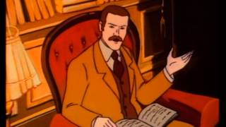 getlinkyoutube.com-ENGLISH Sherlock Holmes and the Hound of the Baskervilles 1983 cartoon full movie baskerville curse