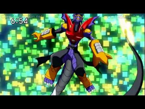 Digimon Xros Wars: Hunters - Gumdramon Chou Shinka