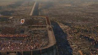 getlinkyoutube.com-Mod Showcase! Roman Field Fort Total War Attila