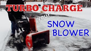 getlinkyoutube.com-TURBO CHARGE YOUR SNOW BLOWER - How to Install a Snow Blower Impeller Kit