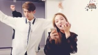 KARD Funny Clip #12 - Singing Competition (Cherry Filter/TWICE/Crush)
