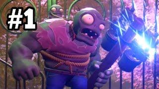 getlinkyoutube.com-Plants vs. Zombies GARDEN WARFARE 2 Beta PART 1 [Gargantuar Boss]