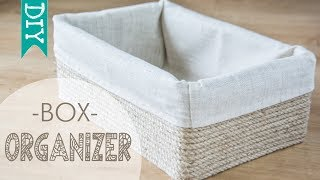 ★ DIY ★ Box Storage Organizer Handmade