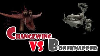 getlinkyoutube.com-Changewing vs Boneknapper