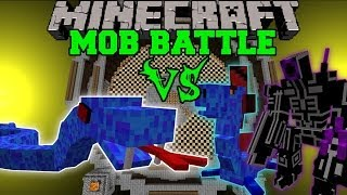 getlinkyoutube.com-SEA VIPER VS WATER DRAGON, MUTANTS, & SEA MONSTER - Minecraft Mob Battles - Mods