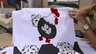 getlinkyoutube.com-Mulher.com 24/05/13 Maria Helena Gobbi - Pano de copa  Parte 2/2