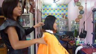 getlinkyoutube.com-Back to Maricel´s extreme hair cut