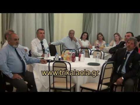 Σύνδεσμος Εφέδρων Καταδρομέων Λεμεσού Κύπρου τίμησε Τρικαλινούς Καταδρομείς 1963-1974 Παρ.24-5-2013