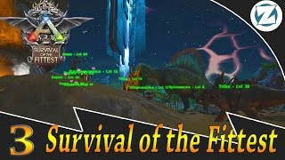 Ark Survival Of The Fittest Gameplay w Draax and Sl1pg8r - Ep3 - Tameaholics