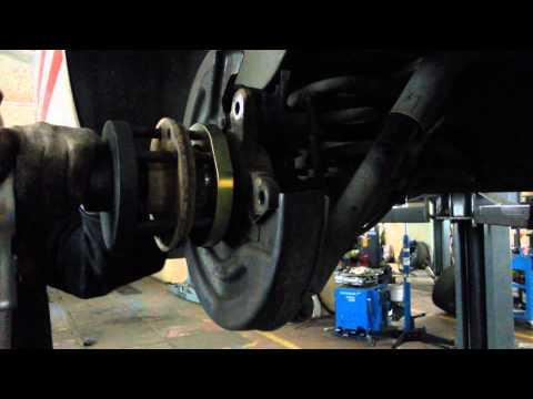 Замена подшипника ступицы VW T5