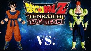 getlinkyoutube.com-Dragon Ball Z Tenkaichi Tag Team ~ Future Gohan Vs Android 16 MOD