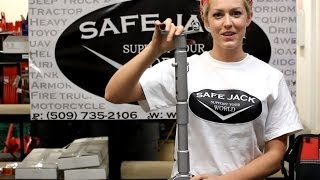 getlinkyoutube.com-New Compact Jack Stands shown with bottle jack recovery kit by Safe Jack