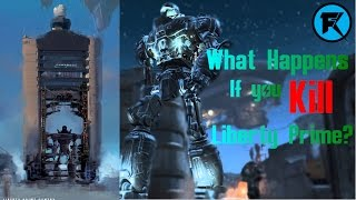 Fallout 4 | What Happens If You Kill Liberty Prime?