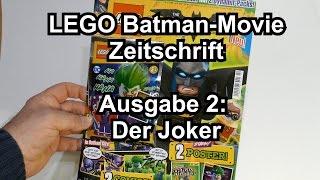Lego The Batman Movie Magazin: Ausgabe 2 mit Joker-Minifigur