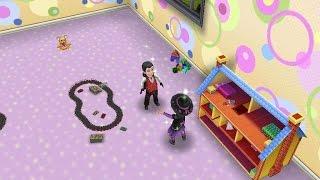getlinkyoutube.com-Sims FreePlay - Vampire Toddler [Halloween Video]