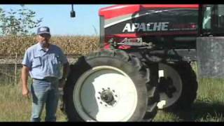 Apache Sprayer Owner: Comfort, Simplicity and Mechanical Drive