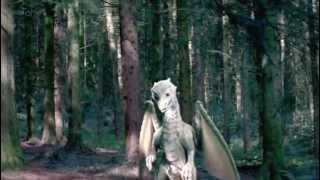 merlin the white dragon saves morgana
