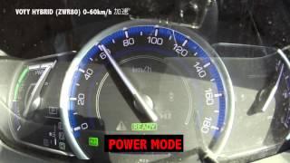 getlinkyoutube.com-ヴォクシーハイブリッド【0−60km/h加速】(ZWR80)