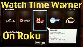 getlinkyoutube.com-Time Warner Roku Cable TV App Review & Demo