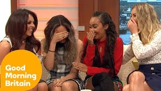 getlinkyoutube.com-Little Mix Reveal Too Much And Get The Giggles! | Good Morning Britain