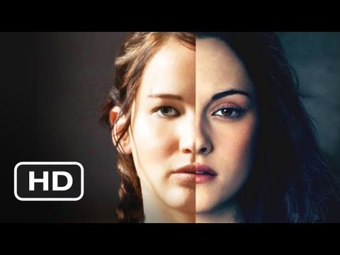 Katniss Kills Jacob - The Hunger Games Vs. Twilight Epic Showdown