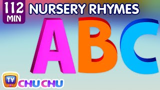 getlinkyoutube.com-ABC Song and Many More Nursery Rhymes for Children | Popular Kids Songs by ChuChu TV