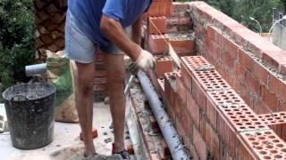 getlinkyoutube.com-Cómo hacer una pared de ladrillo perforado video nº 7