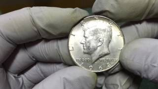 getlinkyoutube.com-Coin Roll Hunting Half Dollars...more silver