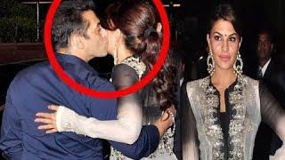 getlinkyoutube.com-Salman Khan KISSES Jacqueline Fernandez at Arpita's Wedding Reception
