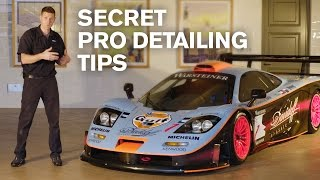 getlinkyoutube.com-SECRET Pro-Detailing Tips: McLaren F1 GTR LT (138h detail)