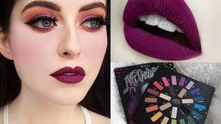 getlinkyoutube.com-Coulourful Fall Makeup Tutorial | Kat Von D Mi Vida Loca Remix Palette