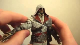 getlinkyoutube.com-Assassin's Creed Brotherhood NECA Ezio Auditore Figure Review