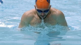 getlinkyoutube.com-How to Breathe during the Breaststroke   Swimming Lessons