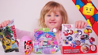 getlinkyoutube.com-[JOUET] Surprises Littlest Petshop, Transformers, Marvel, Disney Minnie - Unboxing toys