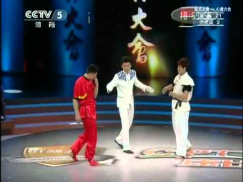 wushu fight TAIQI WuLin vs XINGYI ShenWeiWei.mp4