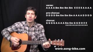"getlinkyoutube.com-""Happy Xmas"" Guitar Lesson Video (John Lennon)"