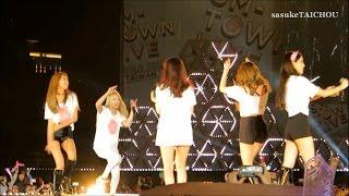 getlinkyoutube.com-SNSD 「SMTOWN LIVE WORLD TOUR IV IN TAIWAN」 Fancam Funny Cut Edited Ver.