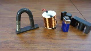 getlinkyoutube.com-PMH - Electromagnet keeps holding after power is removed?