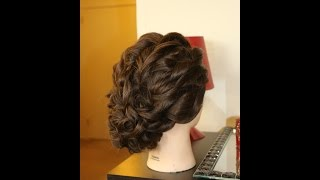 Bridal Curly UP do