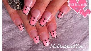 getlinkyoutube.com-Tribal Nail Art | Pink Aztec Nails  ♥
