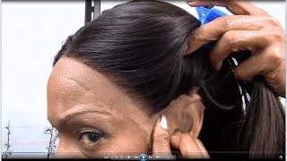 getlinkyoutube.com-Custom Lace Front Wig with Free Parting \ Custom Wigmaking