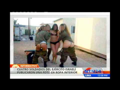 Fotografía de mujeres soldados israelíes en ropa interior causan polémica en redes sociales