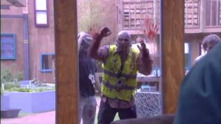 getlinkyoutube.com-Big Brother Zombies - Day 13 A 'dead' rude awakeing