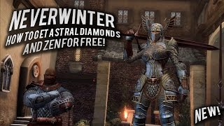 Neverwinter how to get Astral Diamonds and ZEN for FREE on the xbox one